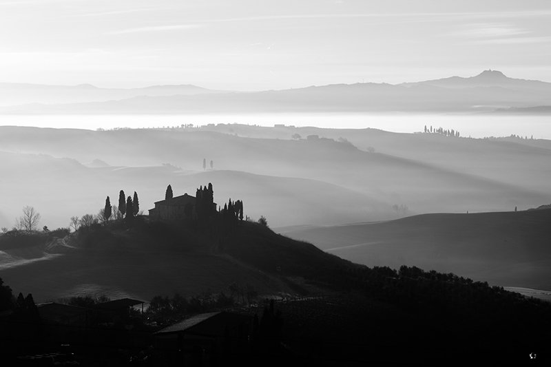 Il Belvedere Sunrise More Images from the Val d Orcia