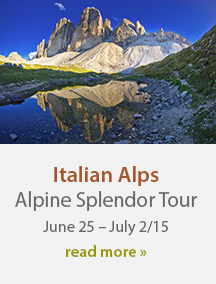 Italian Alps 2015 Photography Vacations