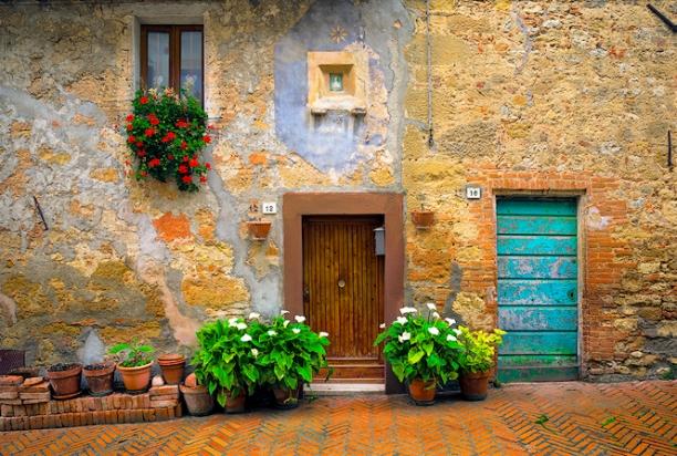 House_pienza_italy