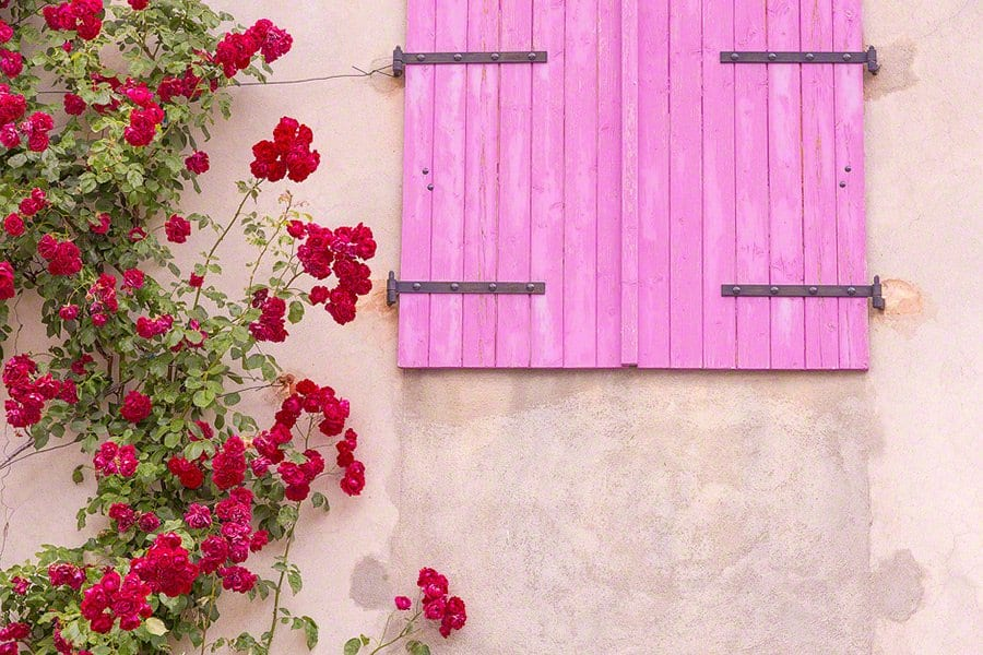 provence-window-roses-france