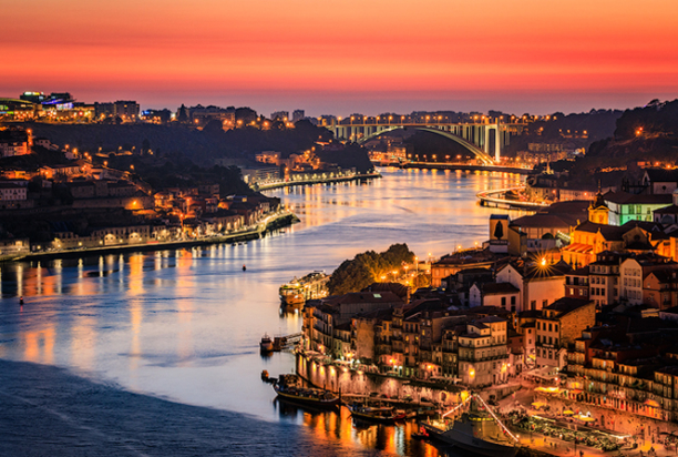 sunset, porto, portugal photo tour