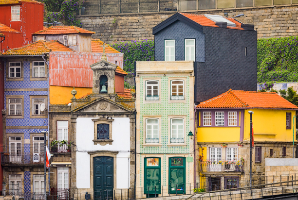 porto buildings, portugal photo tour