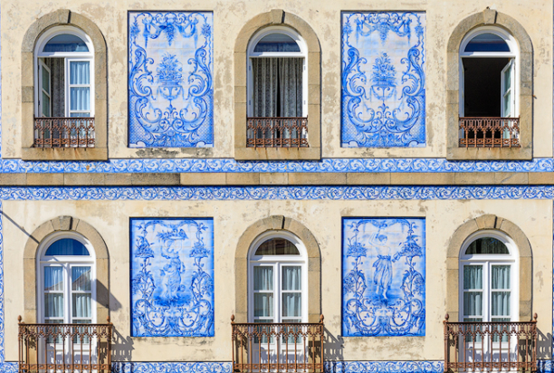 tile buildings portugal photo tour